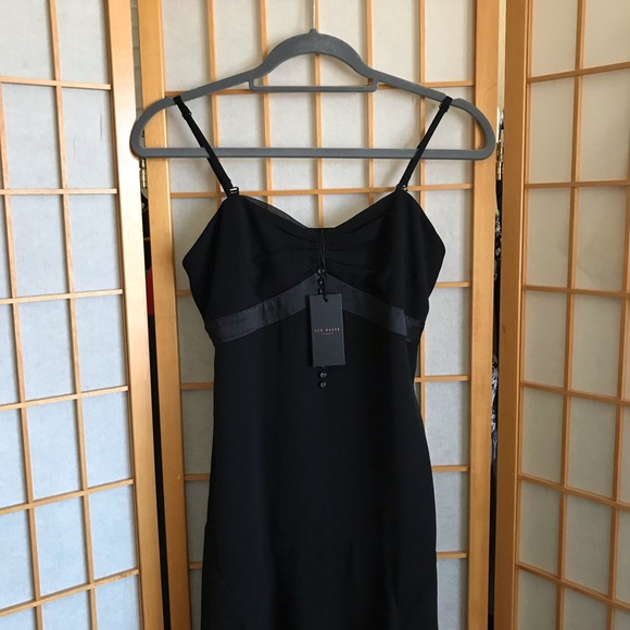 Ted Baker London Dresses & Skirts - Ted Baker Black Silk Dress